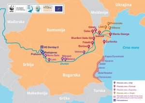 map web SR 1 300x212 - Întâlnirea Regională a echipei de proiect în Belgrad dovedește că proiectul LIFE for Danube Sturgeons este pe drumul cel bun