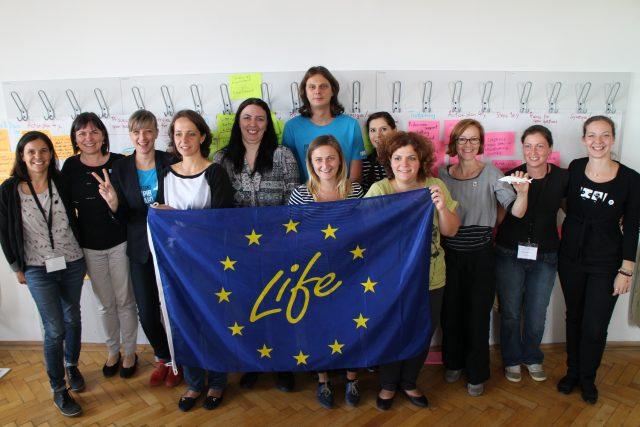 """IMG 6044 640x427 - """"LIFE for Danube Sturgeons"""" la ISS8 – unul dintre cele mai importante proiecte inițiate pentru salvarea sturionilor din Dunăre"""