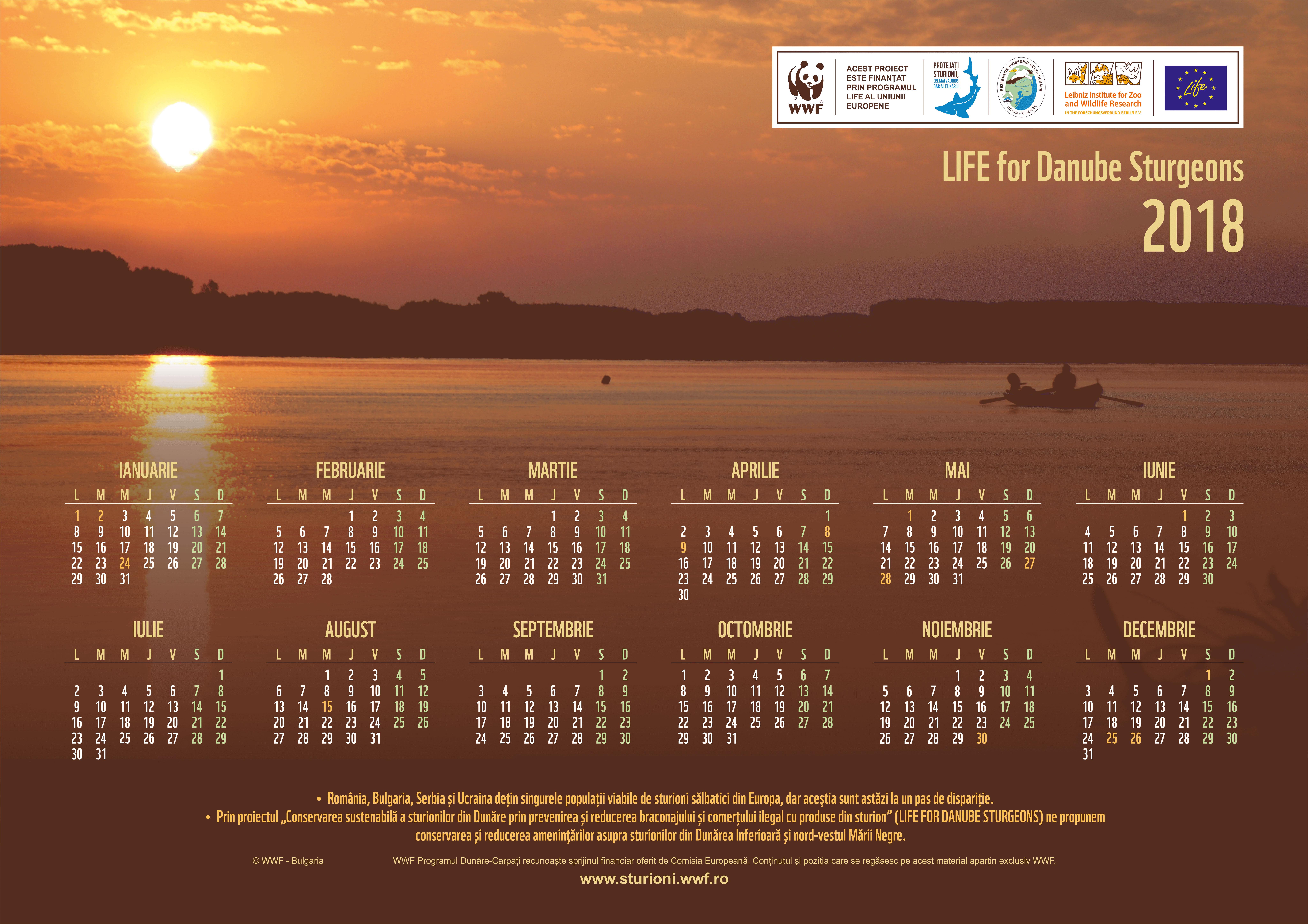 Calendar 2018 Fishermen Landscape web mic - Calendarul 2018 este disponibil online!