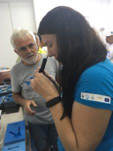 IMG 2102 e1537959521927 225x300 - Participare curs privind evaluarea habitatelor și comportamentului peștilor migratori