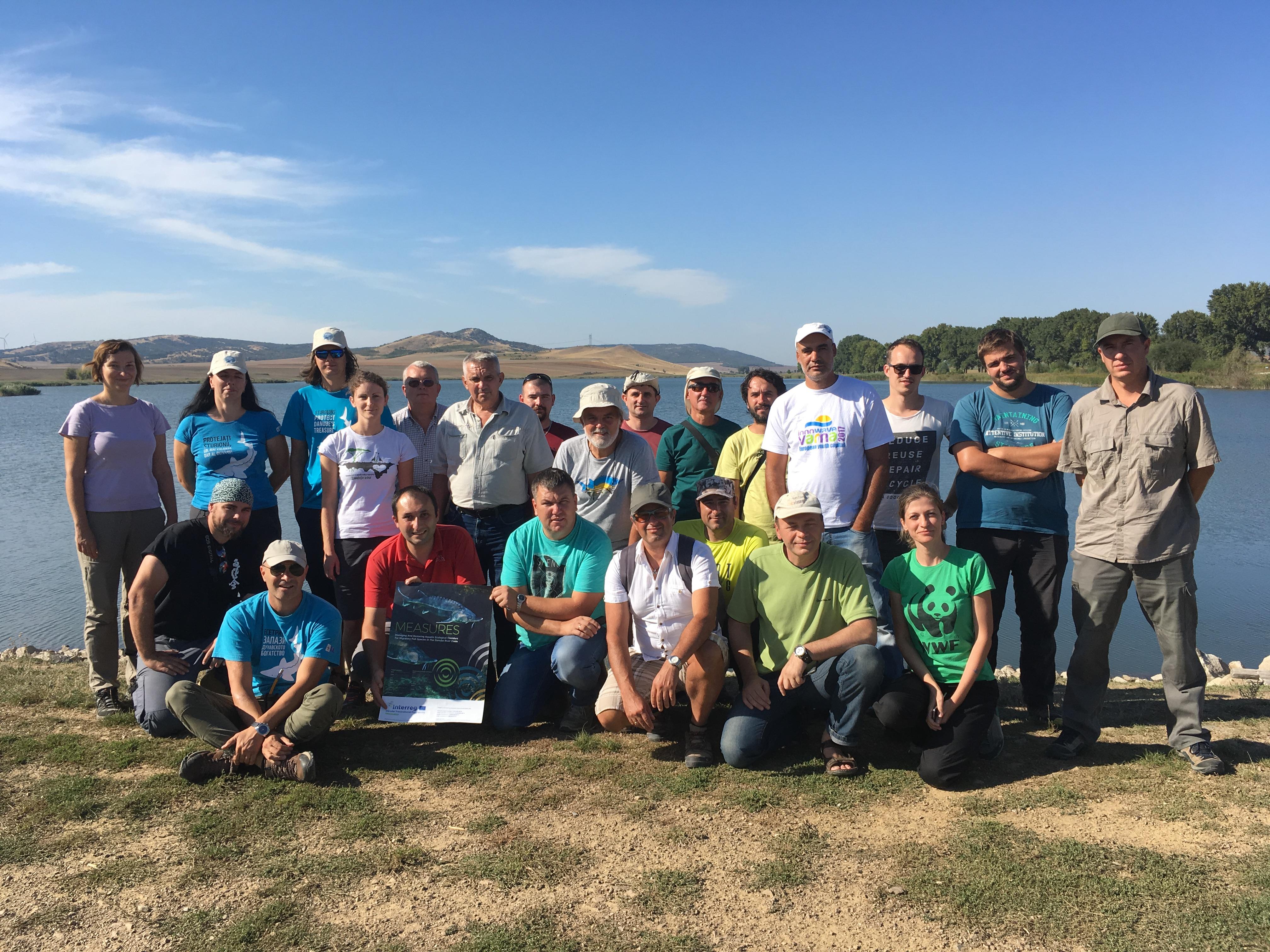 Participare curs privind evaluarea habitatelor și comportamentului peștilor migratori