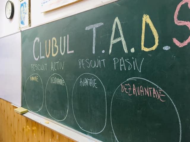 Am vizitat clubul TADS de la Jurilovca