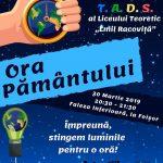 EH afiș 150x150 - De Ora Pământului, cluburile TADS din Galați și Jurilovca au organizat primele lor evenimente