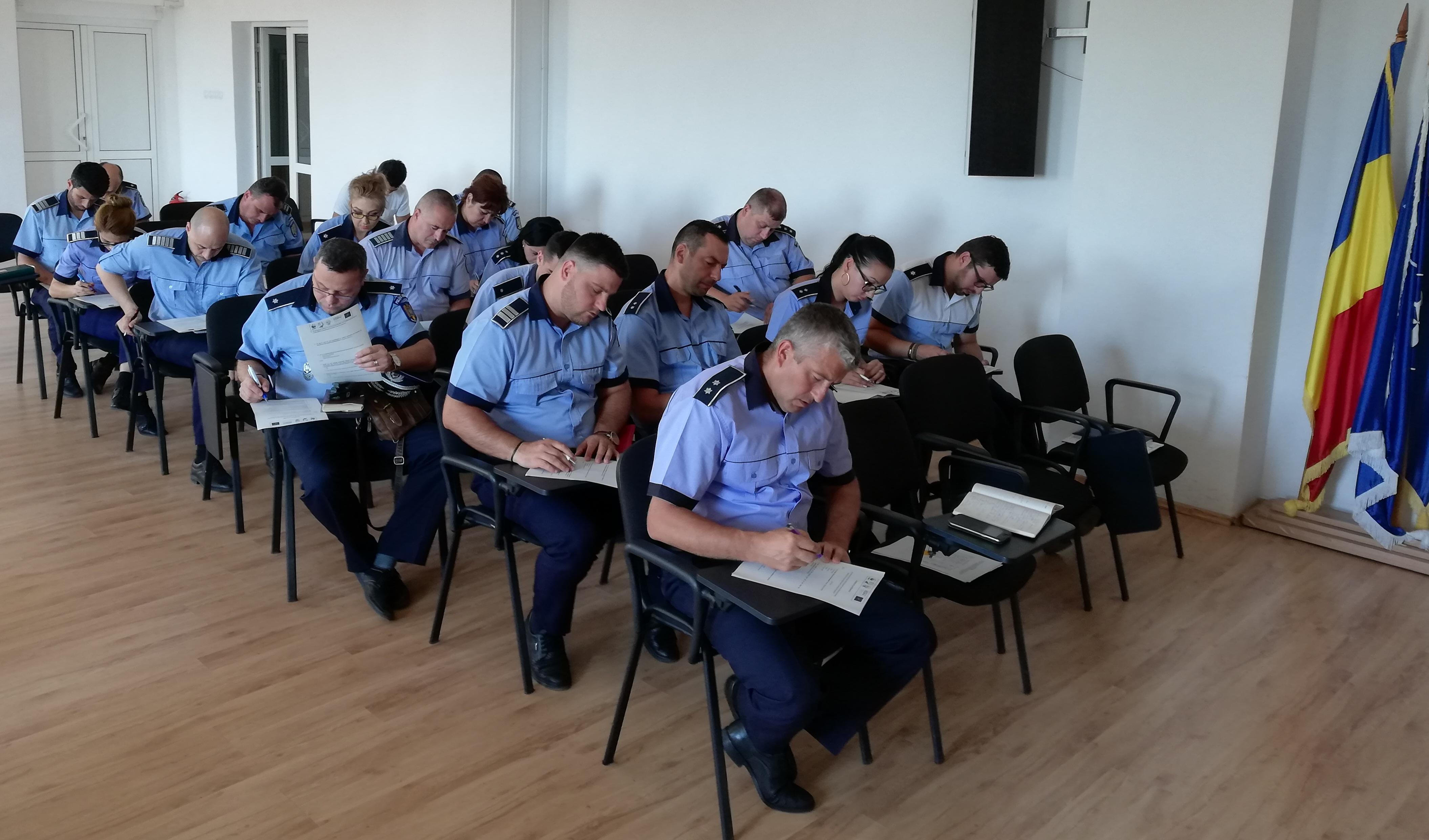 Sesiuni de instruire pentru autorități
