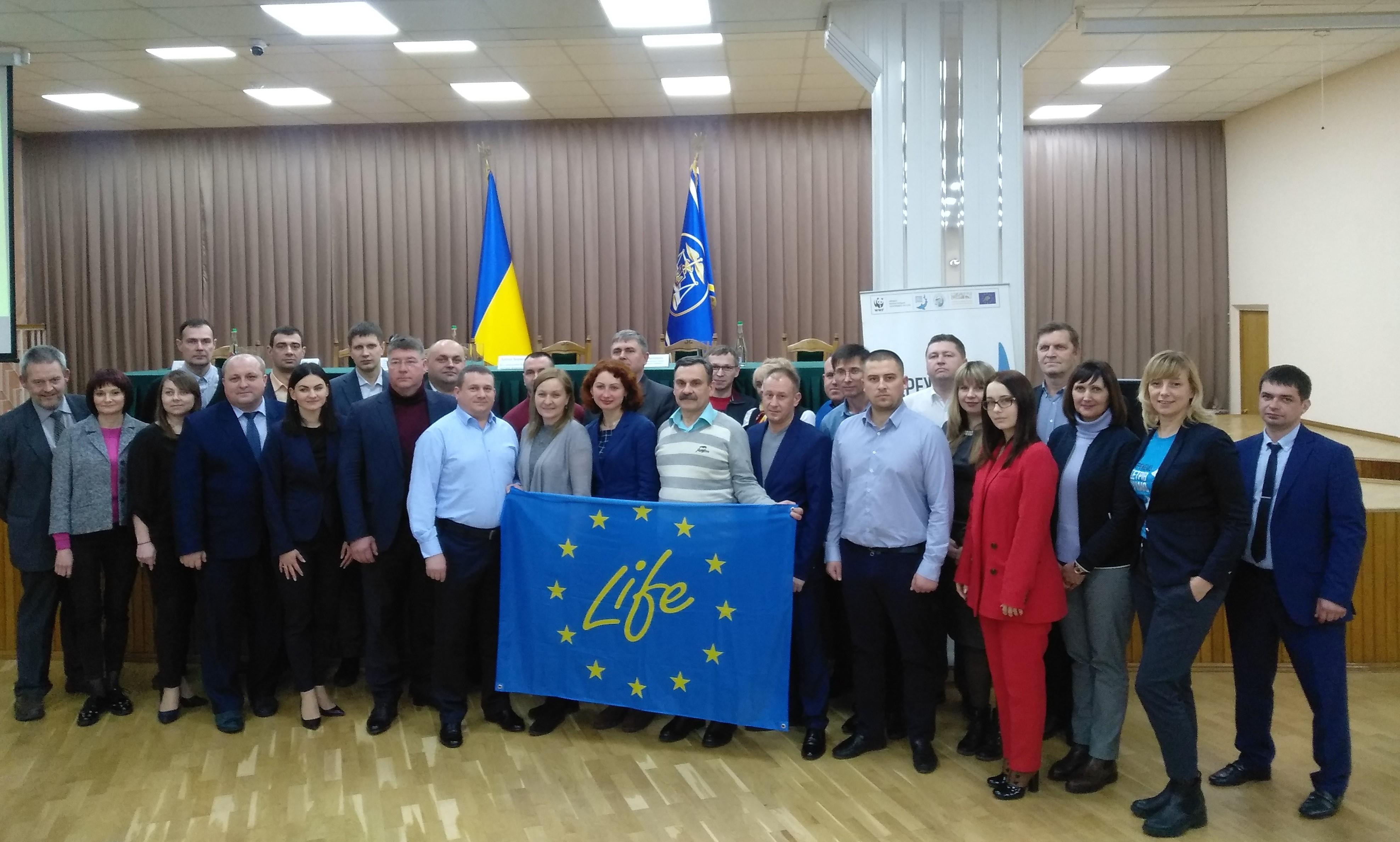 WWF Ucraina a susținut sesiuni de instruire cu autoritățile privind combaterea comerțului ilegal cu sturioni sălbatici